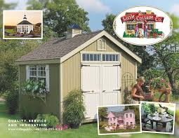 Ted Sheds Miami Florida by Cottage Kits Playhouses Little Cottage Company Storage Shed