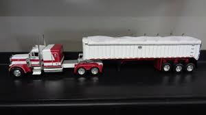 1 64 Scale DCP 33076 Peterbilt 379 Mac Coal Trailer New Cummings ...