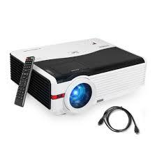 100 Bright Home Theater Projector Full HD 1080p Vivid Color Movie Game HDMI USB VGA EBay
