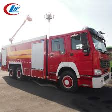 100 Fire Truck Parts Sinotruk Howo 64 Howo 2500l Spare Telescopic Buy