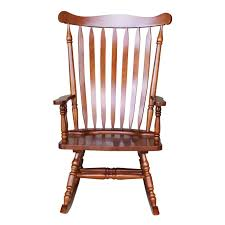 Shop Colonial Cherry Finish Rocking Chair - 28