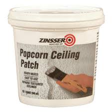 Wood Floor Patching Compound by Shop Zinsser Popcorn Ceiling Patch 32 Fl Oz White Popcorn Ceiling
