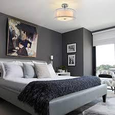 depuley deckenleuchte schlafzimmer weiß mit stoffschirm led deckenle wohnzimmer textil modern rund innen einbau hängend mit 3 e27 basis glühbirne