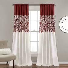 Light Filtering Thermal Curtains by Red Barrel Studio Santa Fe Print Nature Floral Room Darkening