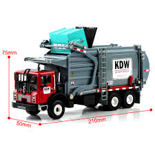 100 Model Toy Trucks 124 Diecast Material Transporter Garbage KDW G Scale