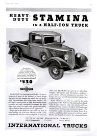 1936 International Truck Ad | International Truck Ads | Pinterest ...