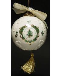 Spode Millennium Christmas Tree Ornament With Box 1 Collectible
