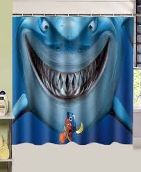 bathroom products Movie Finding Nemo Fish Shark printed