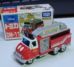 100 Mickey Mouse Fire Truck Tomica Disney Motors DM11 Jolly Float Die