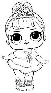 Dibujos para Colorear Muñecas LOL Dibujos Mándalas para pintar