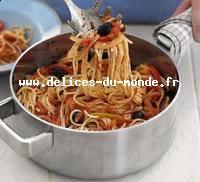 pates a la puttanesca pâte à la puttanesca recettes de cuisine italienne