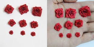 Making Paper Quilled Roses Different Sizes