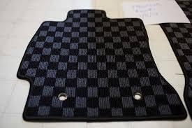 Scion Frs Red Floor Mats by Version Select Floor Mats Grey Checker Scion Fr S Forum