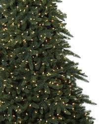 Black Slim Christmas Tree Pre Lit by Aspen Estate Fir Artificial Christmas Tree Balsam Hill