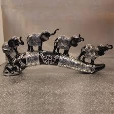 chambre pour amants quatre éléphants maison bureau ivoire diamant ornements cadeaux
