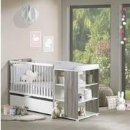 chambre évolutive bébé pack promo ensemble lit bébé combiné 60 x 120 cm évolutif en 90 x190
