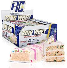rcss king whey protein bar protein bar protein bar protein bar 20 g protein per bar 12 x 57 g birthday