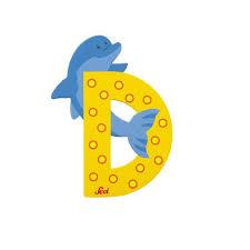 Letra D de animal kinuma