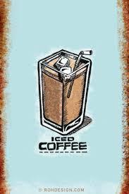 Iced Coffee 320x480 Wallpaper
