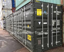 100 40 Ft Cargo Containers For Sale Ft Open Sided Full Side Access Shipping Containers London