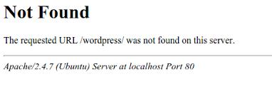 Install Wordpress Lamp Ubuntu 1404 by Localhost Installing Wordpress On Ubuntu 14 04lts Ask Ubuntu