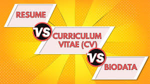 Resume Vs Curriculum Vitae Vs Biodata | Differences Between A Resume, CV  And Biodata - ANIMATED Cv Vs Resume And The Differences Between Countries Cvtemplate Graphic Design Sample Writing Guide Rg The Best Font Size Type For Rumes Cv Vs Of Difference Between Cvme And Biodata Ppt Graduate Professional School Student Services Career Whats Glints A Explained Josh Henkin Phd Who Is In Room Today Postdoc 25 Modern Templates With Clean Elegant Designs Samples Executive How To Make Busradio Stay At Home Mom Example Job Description Tips