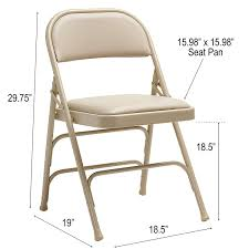 Samsonite Furniture 49752-2899 2800 Series Folding Chairs Neutral 50 Pc Ivory Spandex Stretch Folding Arched Front Chair Covers Wedding Pair Of 1950s Heavy Steel Chairs By Samsonite 6 Pack Fabric Upholstered Padded Seat Metal Frame Fniture Black Cosco Oversized Set 4 Cushion Material Garden Upc 042952096731 Of 7 Sudden Comfort By Meco Deluxe Xl Fanback Case4 516592899 Neutral Recover Your Old 4pack