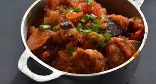cuisiner des saucisses fum馥s recette de rougail saucisses fumées la réunion paradis