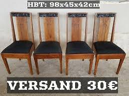 4 deco stühle hochlehner esszimmer stuhl