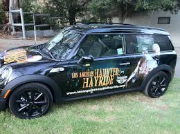 Haunted Halloween Hayride And Happenings by Los Angeles Haunted Hayride Car Wrap Rogues Hollow Productions