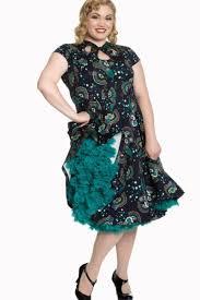 plus size peacock dress pluslook eu collection