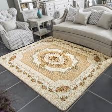 honlaker 185x185cm platz europäischen teppich wohnzimmer tisch teppiche schlafzimmer große teppich matten