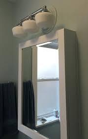 bathroom lighting above medicine cabinet 6756