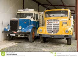 100 Restored Trucks Detail Of Two Old English Editorial Stock Image
