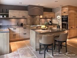cuisine en bois cuisine bois affordable merveilleux cuisine blanc et bois cuisine