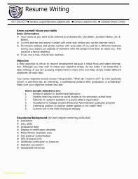 Medical Assistant Resume Objective Examples Entry Level Beautiful Unique Graduate School