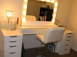 Diy Vanity Table Ikea by Diy Vanity Table With Lights Home Design Ideas
