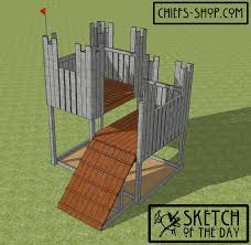 Sketch Of The Day: Castle Play Fort | Chief's Shop Building Our Backyard Castle With Wood Naturally Emily Henderson Fniture Playsets Cedar Swing Sets On Ipirations Skyfort Ii 3d Promo Youtube Kids Playhouse Backyard Shed Clubhouse Studio Playhouses Woodridge Wooden Set Wall Ladders Side Porch And Triton Diy Fortswingset Plans Jacks 34 Free For Your Kids Fun Play Area Easy How To Build A The Yard Fort From Give The A Playset This Holiday Sears Best 25 Fort Ideas On Pinterest Diy Tree House