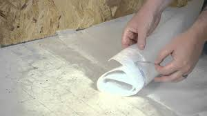 Floating Floor Underlayment Basement by How To Install A Vapor Barrier Below Laminate Flooring Working
