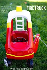 100 Fire Truck Cozy Coupe Make A Firetruck From A Cozy Coupe Kids Halloween Sp DIY Ideas