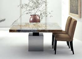 Outstanding Stone Top Dining Room Table Tables House Design Ideas Best Set Chair