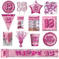 Radio El Patio Hn by 18th Pink Glitz Birthday Party Supplies Decorations Tableware