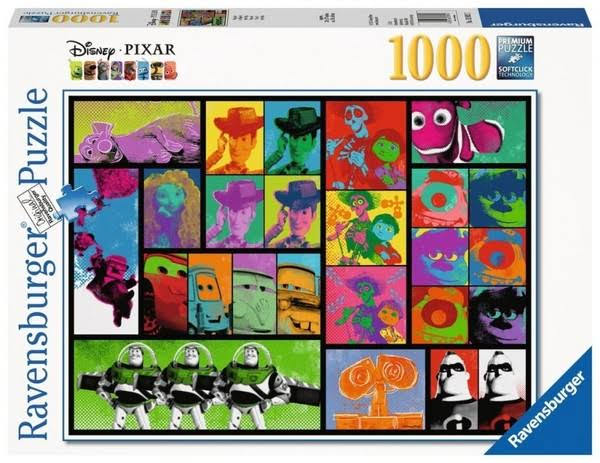 Ravensburger Disney Pixar Pop Art Jigsaw Puzzle - 1000pcs