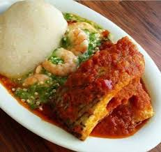 Conventional West African Fufu Is Made By Boiling Starchy Foods As Cassava Yam Plantain