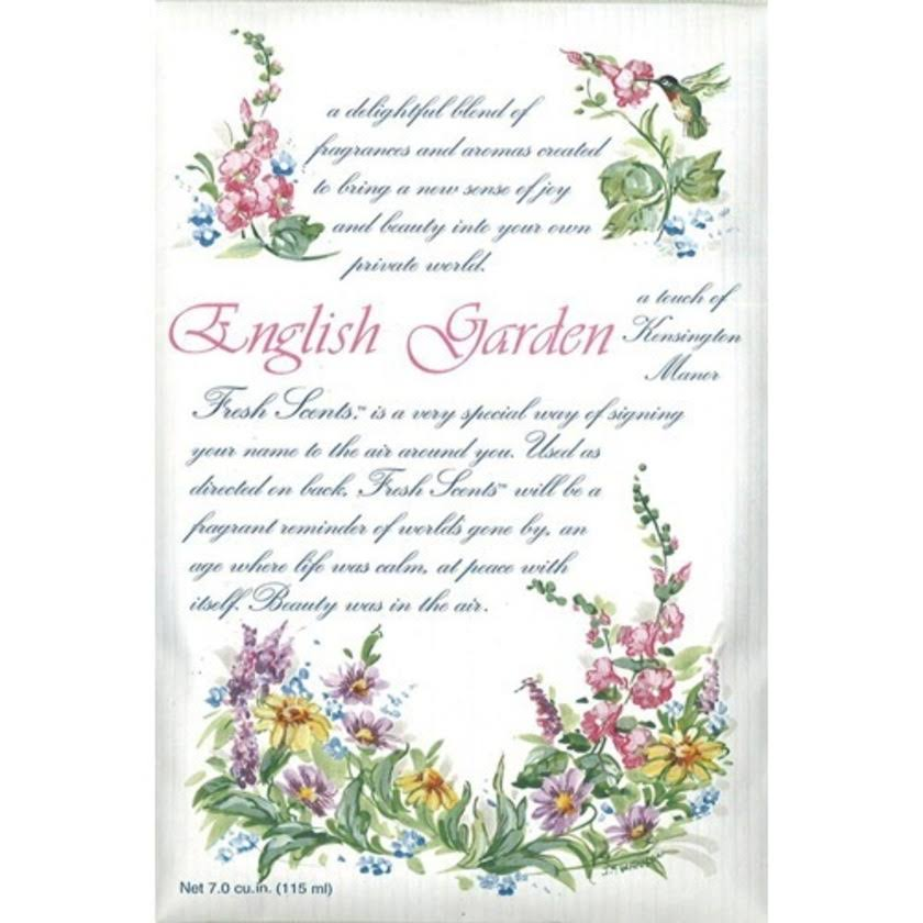 Fresh Scents Scented Sachets - 6pk, English Garden
