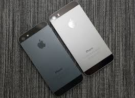 iPhone 5s Space Gray vs iPhone 5 Black Slate Color