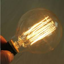 g95 e27 60w 220v incandescent bulb retro edison light bulb sale