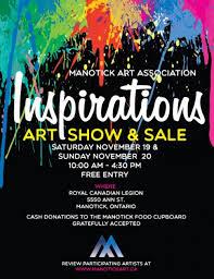 Inspirations Art Show Sale Rideau Goulbourn