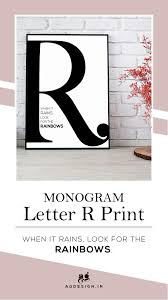 Monogram R Letter Print, Rainbows Quote, Printable Big ... Ardene Get Up To 30 Off Use Code Rainbow Milled Siderainbow Premium Stainless Steel Rainbow Silverware Set Toys Bindis And Bottles Print Name Gigabyte Geforce Rtx 2070 Windforce Review This 500 Find More Coupon For Sale At 90 Off Coupons 10 Sea Of Diamonds Coupon Vacuum Cleaners Greatvacs Gay Pride Flag Button Pin Free Shipping Fantasy Glass Suncatcher Dragonfly Summer
