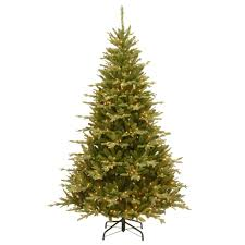Barcana Christmas Tree For Sale by 7 5 Ft Led Pre Lit Christmas Trees Artificial Christmas